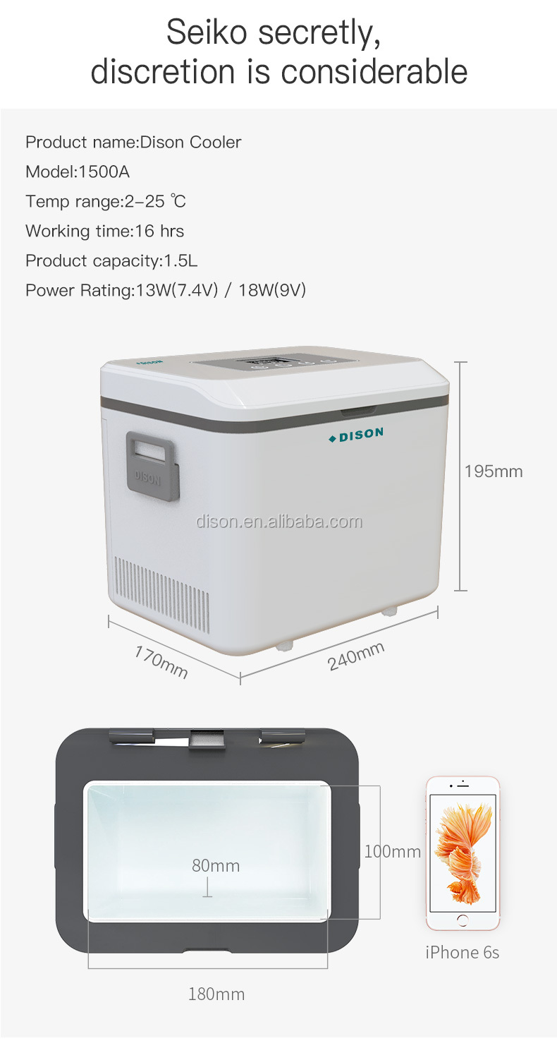 Refrigerators Major Appliances Insulin Pen Cooler Portable Fridge Mini Fridge Insulin Battery Operated Cooler Battery Powered Mini Refrigerator Insulin Cooler To Adopt Advanced Technology