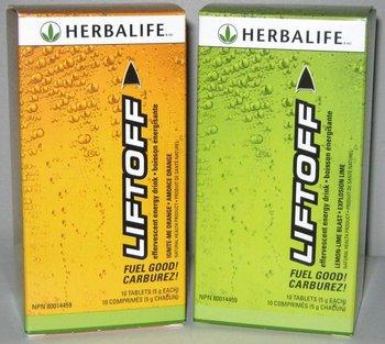 Herbalife liftoff effervescent energy drink