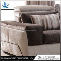 High-grade modern european style office furniture multi fabric sectional sofa
