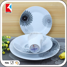 High Quality Ceramic Luxury Corelle Procelain Dinner Set Prices Arcopal Pakistani Porcelain Dinner Set