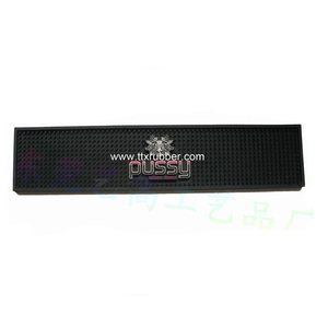 Factory supply plastic customized bar mat