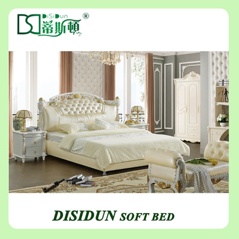 Super Large King Size Indian Wood Double Bed Designs