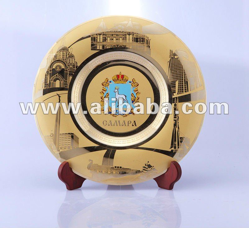 Hot sale custom metal plates for souvenirs and anniversary