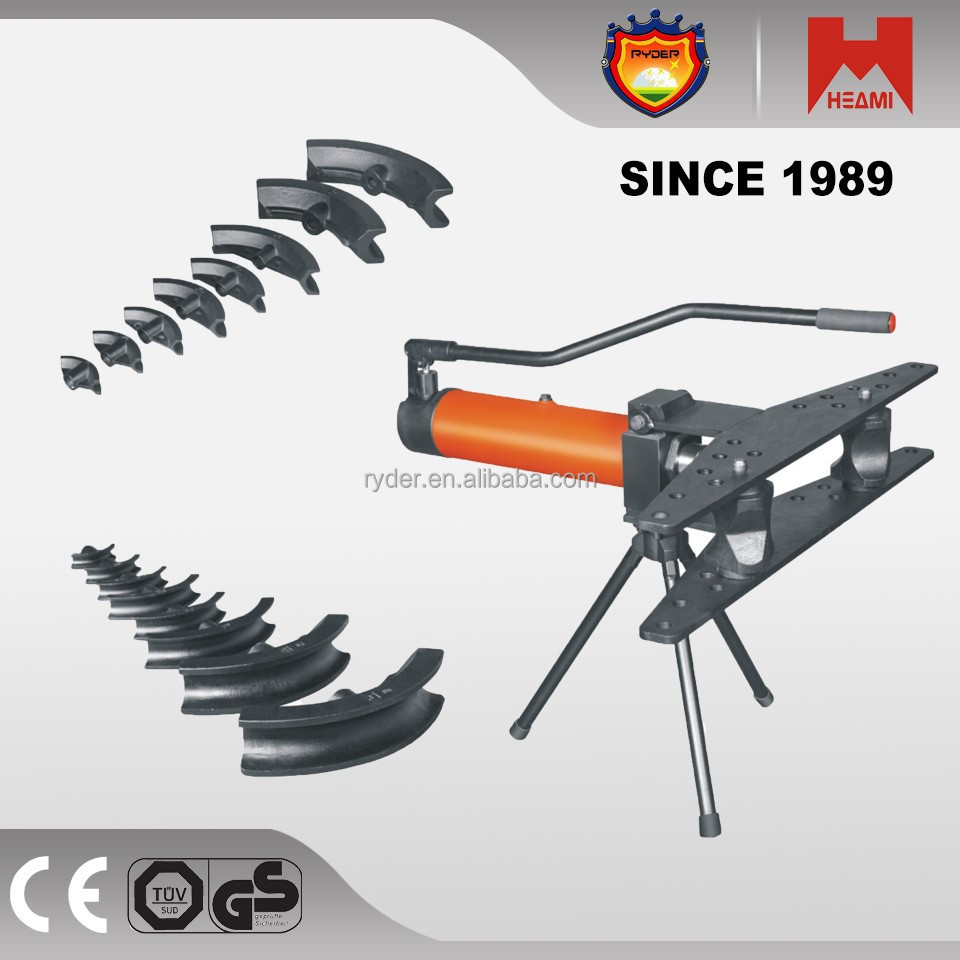 Hand pipe bending tools