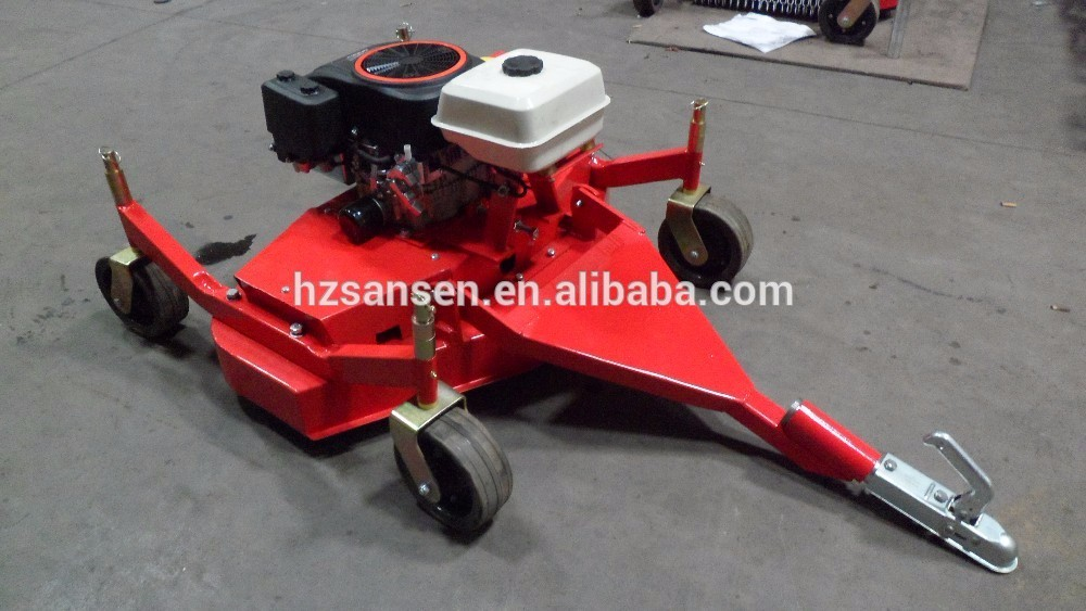 Tow Behind Finishing Mower For Atv Quad 12hp Grass Cutter