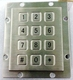 Waterproof Numeric Metal Keypad 3X4 Layout (KMY3502J-1)