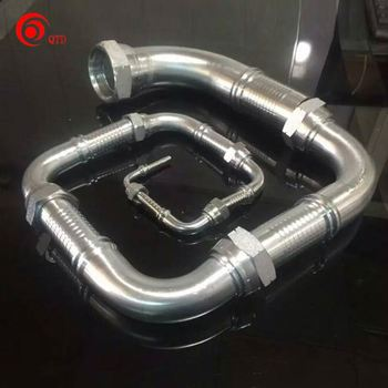 JIC hose fittings for high pressure hydraulic hose made in China