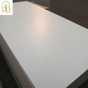 Linyi 18mm best price white color fire rated Melamine Board for furniture