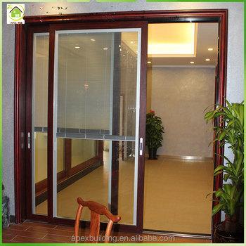 Big Glass Aluminum Glass Door Sliding Door Pricedouble Glazed