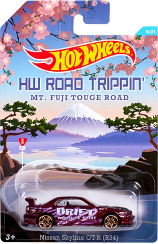 Get Quotations · Mattel Hot Wheels HW Road Trippinu0027 Mt. Fuji Touge Road    Nissan Skyline GT