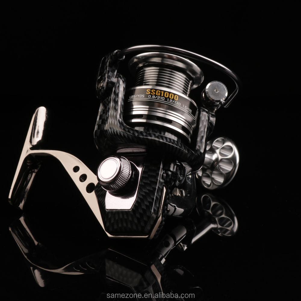 Spinning Fishing Reel 5.2:1/9+1BB Molinete Para Pesca Fishing Reels Vissen Low Profile Reel Peche En Mer Feeder