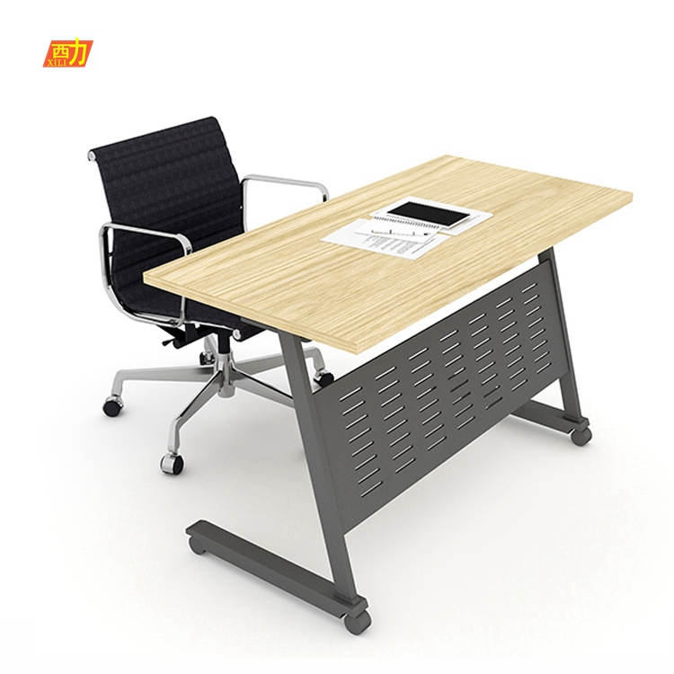office furniture cheap 1seats staff folding all kinds of size movable school office desk set