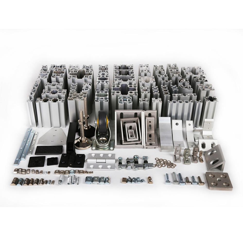 Perfil De Aluminio Estructural For T Slot