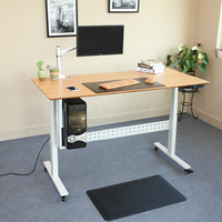 High quality electric height adjustable standing desk frame