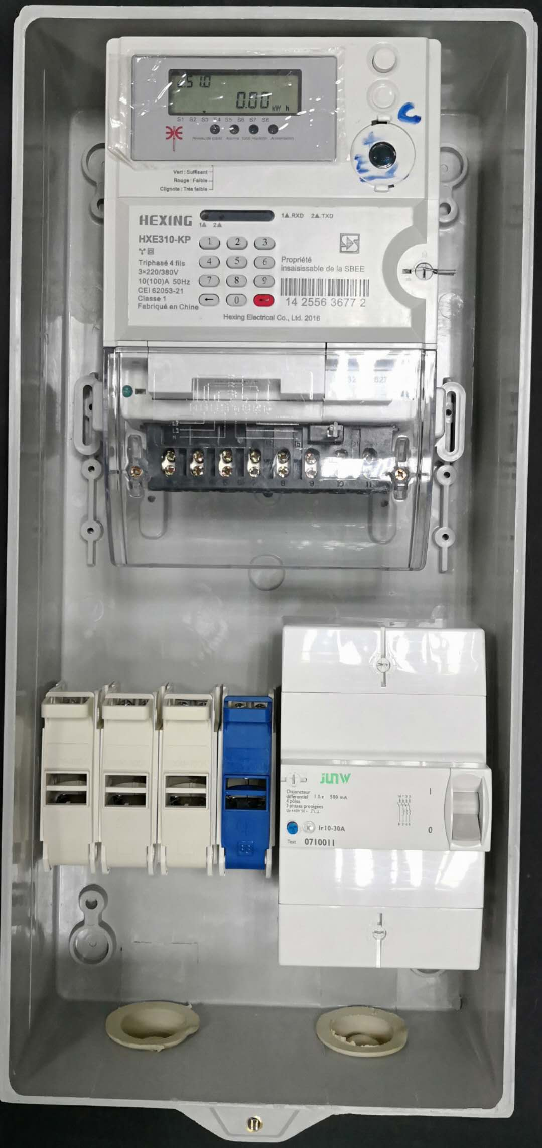 High quality Africa Single phase meter box