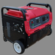 gasoline power portable 6kw/6kva soundproof inverter generator