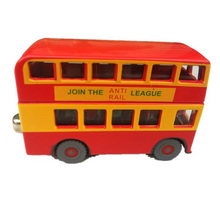 Alloy Thomas Friends BULGY Double Decker Bus Diecast Toys Boys In Stock Free Shipping