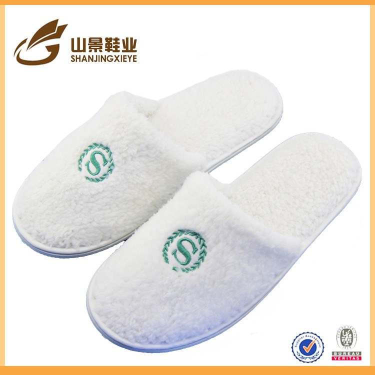 New cheap hotel slippers close toe VIP guest slippers