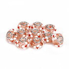 Hot Selling Murano Lampwork 10 pcs Light Rose Color Glass Beads Loose Beads