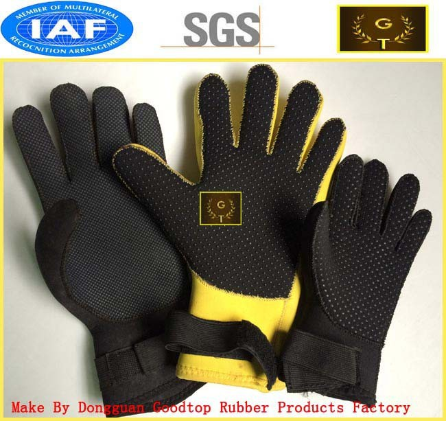 neoprene custom sport gym glove