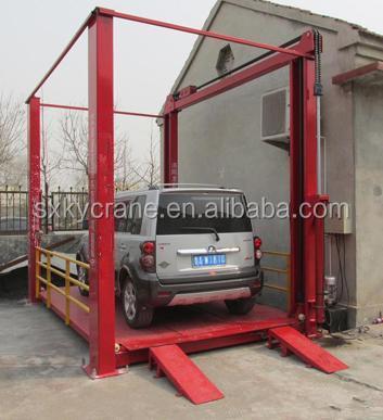 Mechanical Parking System Hydraulic Garage Car Lift