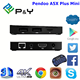 factory hot sales Pendoo A5X Plus Mini RK3328 1G 8G 1080p android tv box dvb t2 with CE&ISO Android 7.1 TV Box