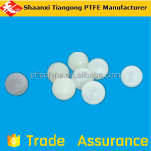 50mm diameter white virgin ptfe balls high quality