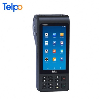 Telpo Touch screen NFC barcode scanner handheld mobile pos terminal with printer