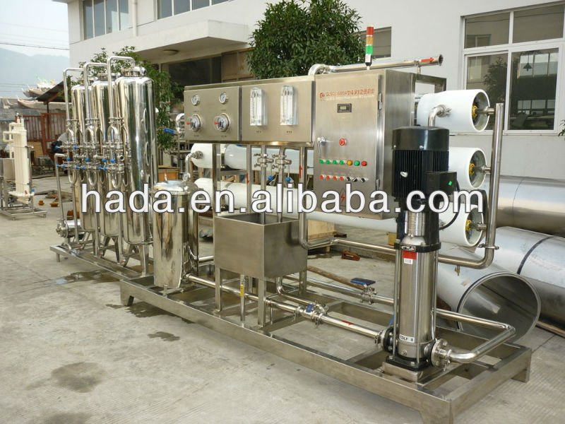 Pharmaceutical water treatment reverse osmosis (ro) plants