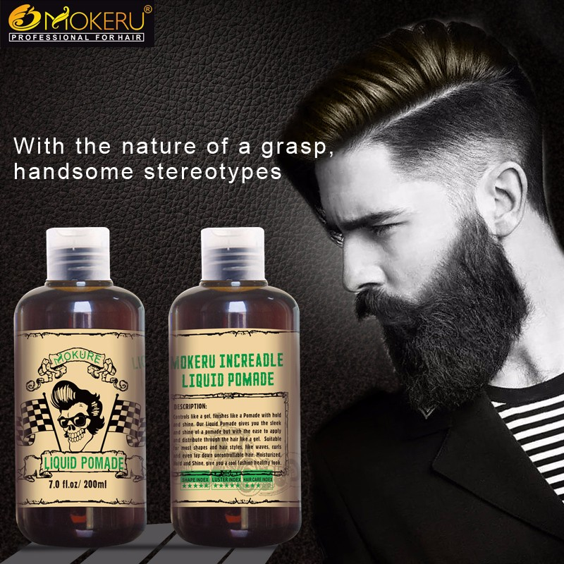 MSDS Herbal natural Professional strong hold hair style shine wax eco styler best hair gel for men