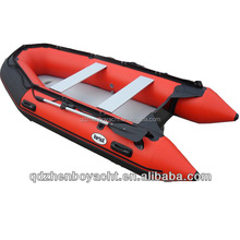 Inflatable fishing boat with trolling motor, Cheap Inflatable boat foldable boat