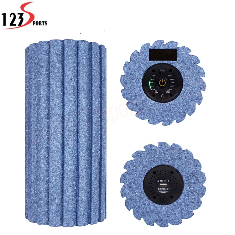 Custom Logo Printing High-Density EPP Massage Electric Vibrating Foam Roller
