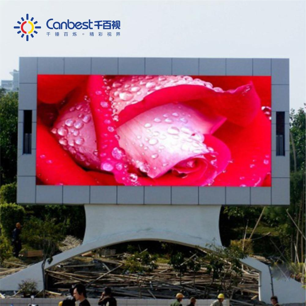 Big size P4 P5 P6 P8 full color SMD P10 Outdoor LED Display
