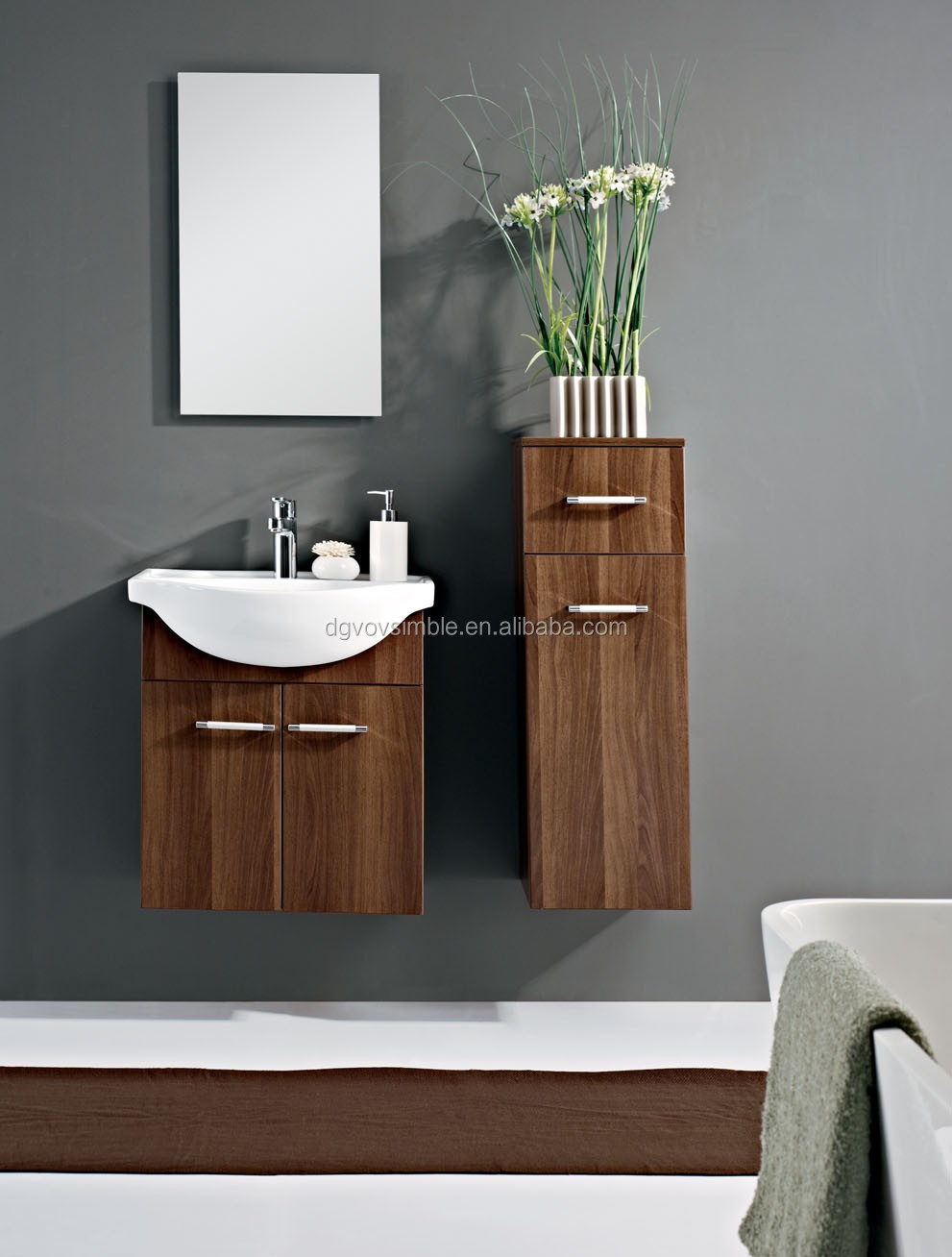 Modern sink furniture - Bath Washing Basin Furniture Modern Mdf Bathroom Sink Cabinet Bathroom Cabinet Mirror