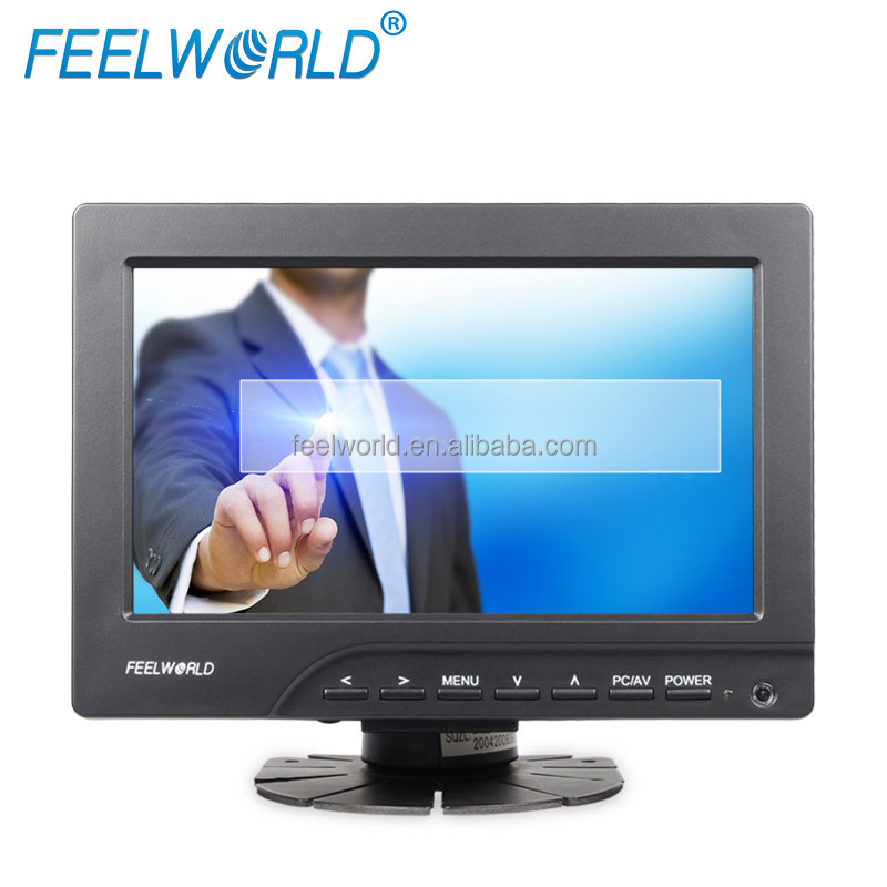 FEELWORLD VGA 1080p TFT LCD USB powered 7 inch touch screen monitor for car pc