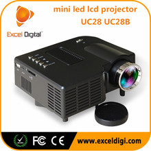 Excel Digital latest projector mobile phone hologram projector 4K projector UC28 UC28B
