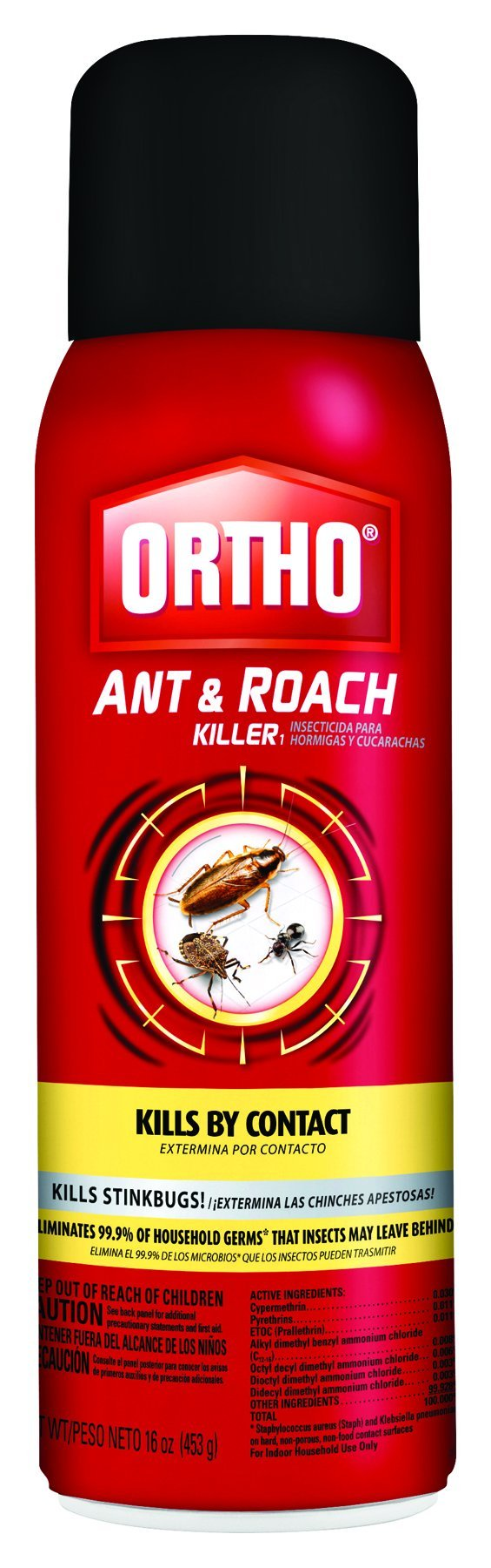 Ortho Ant and Roach Killer (Case of 12), 16 oz