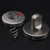 Popular stainlesst steel 304 Toilet Indicator lock for Public and instititution construction