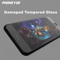 New 2.5D 9H Anti-Scratch Gamepad Handle Gamer Controller Tempered Glass Screen Protector For iPhone 6/7/7 Plus