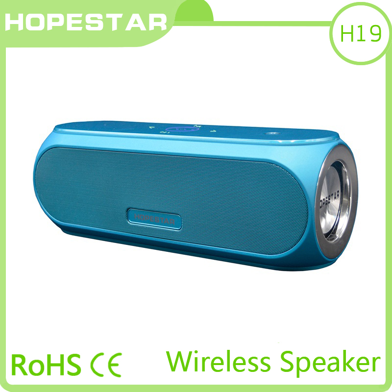 HOPESTAR H19 blue color NFC wireless harga speaker <strong>bluetooth</strong>