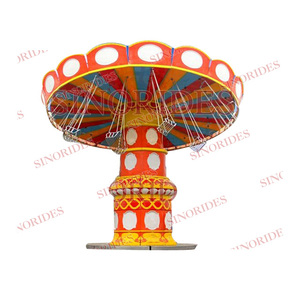 Outdoor Amusement park Facility thrill rides adults rides Umbrella Swing Rotation/swing chair on sale