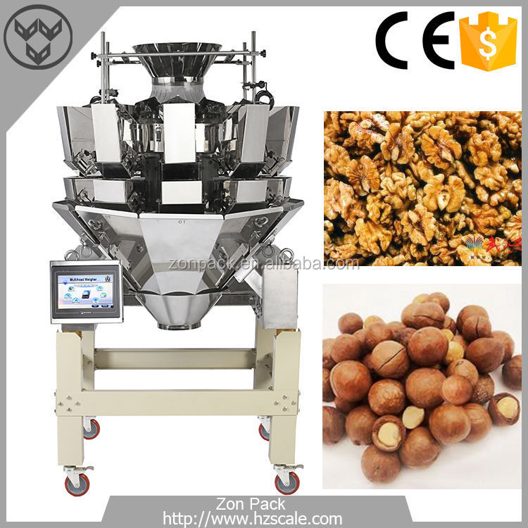 Factory Directly Provide High Efficient Touch Screen Multihead Weigher