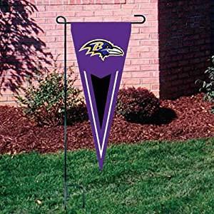 """NFL Baltimore Ravens 34"""" x 13 1/2"""" Purple Applique Pennant"""