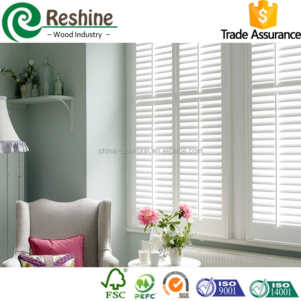 Adjustable Louver Kitchen Interior Window shutter