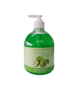 OEM 500ml manufacturing process green apple liquid hand wash