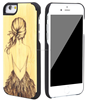 2016 new gadgets bamboo wood phone case wooden cell phone case for iphone6 case