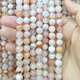 August New Arrivals Natural Stone Cherry Blossom Agate Round Stones