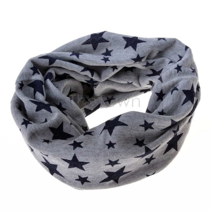 1pc Baby Cotton Scarf Fashion Autumn Winter Cute Baby Warm Boys Girls Children Stars Collar Scarf Children Neck Scarves Beautiful And Charming Girl's Accessories