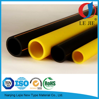 2 Inch 63mm natural plastic HDPE gas pipe