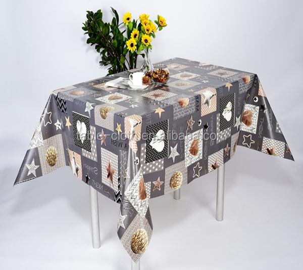 New Design PVC Non Slip Tablecloth